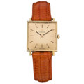 Estate Jewelry:Watches, Omega Unisex Gold Watch. ...