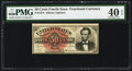 Fr. 1374 50¢ Fourth Issue Lincoln PMG Extremely Fine 40 EPQ