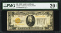 Small Size:Gold Certificates, Fr. 2402* $20 1928 Gold Certificate. PMG Very Fine 20 Net.. ...