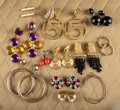 American:Academic, A Zsa Zsa Gabor Collection of Fun Earrings, 1980s.. Thirteen pairstotal; of varying designs; five are clip backs; eight are...