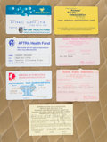 American:Academic, A Zsa Zsa Gabor Group of SAG/AFTRA-Related ID Cards, Circa1980s-1990s.. Seven total, all showing the star's name, most are... (Total: 7 Items)