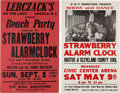 Music Memorabilia:Posters, Strawberry Alarm Clock - Two Concert Posters (Circa 1960s)....(Total: 2 Items)