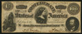 "Confederate Notes:1864 Issues, CT65 ""Havana Counterfeit"" $100 1864.. ..."