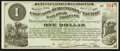 Obsoletes By State:Iowa, Newton, IA - Chicago, Burlington and Pacific Rail Road Company $1Apr. 1, 1882. ...