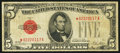 Small Size:Legal Tender Notes, Fr. 1525* $5 1928 Legal Tender Star Note. Fine.. ...
