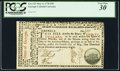 Colonial Notes:Georgia, Georgia May 4, 1778 $30 PCGS Very Fine 30.. ...