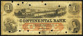 Obsoletes By State:Rhode Island, Providence, RI- Continental Bank $1 Apr. 3, 1863. ...