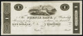 Obsoletes By State:Rhode Island, Westerly, RI- Phenix Bank $1 G2 Durand 2477 Proof. ...