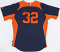 Autographs:Jerseys, 2011 Don Kelly Team Issued Detroit Tigers Road Batting PracticeJersey.. ...