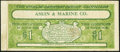 Obsoletes By State:Colorado, Denver, CO - Askin & Marine Co. Advertising Note $1 ND (ca. 1900-1920). ...