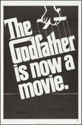 "Movie Posters:Crime, The Godfather (Paramount, 1972). One Sheet (27"" X 41"") Teaser.Crime.. ..."
