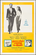 """Movie Posters:Comedy, Guess Who's Coming to Dinner (Columbia, 1967). Folded, Very Fine-.One Sheet (27"""" X 41""""). Comedy.. ..."""