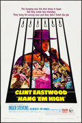 "Movie Posters:Western, Hang 'Em High (United Artists, 1968). One Sheet (27"" X 41""). Western.. ..."
