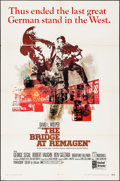 "Movie Posters:War, The Bridge at Remagen (United Artists, 1969). One Sheet (27"" X41""). War.. ..."