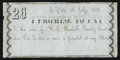 Obsoletes By State:Indiana, La Porte, IN- Uncertain Issuer / W.E. Randall 20¢ July 4, 1855 Wolka 387-2. ...