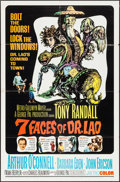 "Movie Posters:Fantasy, The 7 Faces of Dr. Lao (MGM, 1964). One Sheet (27"" X 41""). Fantasy.. ..."