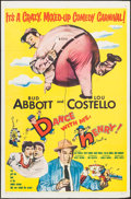 "Movie Posters:Comedy, Dance with Me, Henry! (United Artists, 1956). One Sheet (27"" X41""). Comedy.. ..."