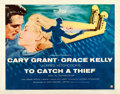 """Movie Posters:Hitchcock, To Catch a Thief (Paramount, 1955). Half Sheet (22"""" X 28"""") StyleA.. ..."""