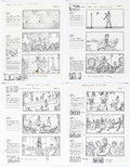 Original Comic Art:Miscellaneous, Dan Fraga Rhythm City Volume One: Caught Up by Usher MusicVideo Mini-Movie Storyboards Original Art Group of 60 (... (Total:60 Items)