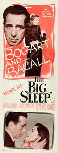 "Movie Posters:Film Noir, The Big Sleep (Warner Brothers, 1946). Insert (14"" X 36"").. ..."