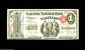 National Bank Notes:Pennsylvania, Erie, PA - $1 Original Fr. 380 The Keystone NB Ch. # 535 A trulyrare note from a bank which issued First and Second Ch...