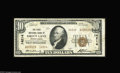 National Bank Notes:Pennsylvania, Green Lane, PA - $10 1929 Ty. 2 The First NB Ch. # 14214 A scarcerMontgomery County 14000 charter example, with the la...