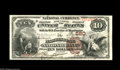 National Bank Notes:Pennsylvania, Harrisburg, PA - $10 1882 Brown Back Fr. 480 The Harrisburg NB Ch.# 580 State capital collectors, Pennsylvania enthus...
