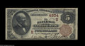 National Bank Notes:Pennsylvania, Hazleton, PA - $5 1882 Brown Back Fr. 471 The Hazleton NB Ch. # 4204 While two issuers were located here, this was the ...