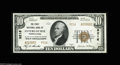 National Bank Notes:Pennsylvania, Intercourse, PA - $10 1929 Ty. 2 The First NB Ch. # 9216 Aperfectly centered and fully embossed example from this muc...