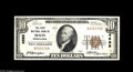National Bank Notes:Pennsylvania, Irwin, PA - $10 1929 Ty. 1 The First NB Ch. # 4698 This example isa well centered and bright About Uncirculated w...