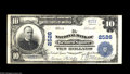 National Bank Notes:Pennsylvania, Kennett Square, PA - $10 1902 Plain Back Fr. 633 The NB of KennettSquare Ch. # 2526 A scarce Chester County bank in la...