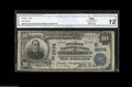 National Bank Notes:Pennsylvania, Lancaster, PA - $10 1902 Plain Back Fr. 634 The Fulton NB Ch. #(E)2634 A note from strongly collected Lancaster Count...