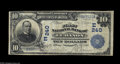 National Bank Notes:Pennsylvania, Lebanon, PA - $10 1902 Date Back Fr. 616 The First NB Ch. # (E) 240This was the first of the five issuers located her...