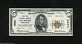 National Bank Notes:Pennsylvania, Leechburg, PA - $5 1929 Ty. 2 The First NB Ch. # 5502 This VeryChoice Crisp Uncirculated example has three pronou...