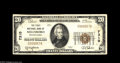 National Bank Notes:Pennsylvania, Millsboro, PA - $20 1929 Ty. 1 The First NB Ch. # 7310 A scarce 1929 note from a bank which was the only issuer in thi...