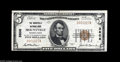National Bank Notes:Pennsylvania, Mountville, PA - $5 1929 Ty. 1 The Mountville NB Ch. # 3808 A bright About Uncirculated from the only institution t...