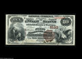 National Bank Notes:Pennsylvania, New Bloomfield, PA - $10 1882 Brown Back Fr. 490 The First NB Ch. #5133 A lovely serial number 1 Brown Back with great...