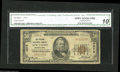 National Bank Notes:Pennsylvania, New Castle, PA - $50 1929 Ty. 1 The Citizens NB Ch. # 4676 Of noted interest is that this bank issued only $50 and $10...
