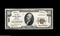 National Bank Notes:Pennsylvania, Oley, PA - $10 1929 Ty. 1 The First NB Ch. # 8858 A fresh and fullyoriginal Gem Crisp Uncirculated example....
