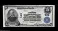 National Bank Notes:Pennsylvania, Philadelphia, PA - $5 1902 Plain Back Fr. 598 The Eighth NB Ch. #522 A pleasing example from one of Philadelphia's nu...