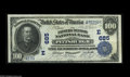 National Bank Notes:Pennsylvania, Pittsburgh, PA - $100 1902 Date Back Fr. 689 The Farmers Deposit NB Ch. # (E)685 While hardly a rare bank, nice high de...