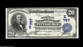 National Bank Notes:Pennsylvania, Pittsburgh, PA - $20 1902 Date Back Fr. 642 The German NB Ch. #(E)757 An attractive Date Back from this ethnic title b...