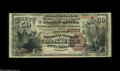 National Bank Notes:Pennsylvania, Pittsburgh, PA - $50 1882 Brown Back Fr. 513 The Lincoln NB Ch. # (E)4883 New to the census, and the only $50 Brown Bac...