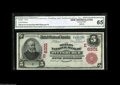 National Bank Notes:Pennsylvania, Pittsburgh, PA - $5 1902 Red Seal Fr. 587 The Mellon NB Ch. #(E)6301 A nicely centered Red Seal bearing single digit s...