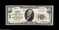 National Bank Notes:Pennsylvania, Quarryville, PA - $10 1929 Ty. 1 The Quarryville NB Ch. # 3067 Anice Very Fine from this challenging Lancaster Cou...