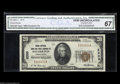 National Bank Notes:Pennsylvania, Souderton, PA - $20 1929 Ty. 1 The Union NB & TC Ch. # 2333 A virtual twin to the note offered above, and consecutive t...