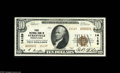 National Bank Notes:Pennsylvania, Sykesville, PA - $10 1929 Ty. 2 First NB Ch. # 14169 A bright andwell centered type 2 serial #1 note with evenly balan...