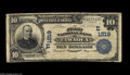 National Bank Notes:Pennsylvania, Tamaqua, PA - $10 1902 Plain Back Fr. 624 The First NB Ch. #(E)1219 This Schuylkill County bank received its federal c...
