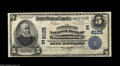 National Bank Notes:Pennsylvania, Waynesburg, PA - $5 1902 Plain Back Fr. 598 The American NB Ch. #(E) 6105 This bank, chartered in 1902, closed its do...