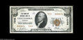 National Bank Notes:Tennessee, Chattanooga, TN - $10 1929 Ty. 2 The Hamilton NB Ch. # 7848 Acorner tip fold and light handling keep this from the fu...